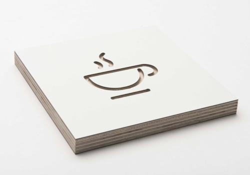 Pictogram cafetaria - signalisatie