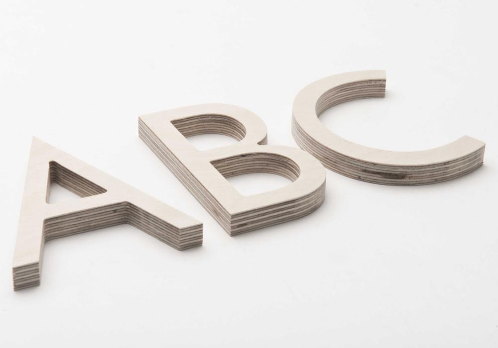 Letters voor signalisatie & bewegwijzering