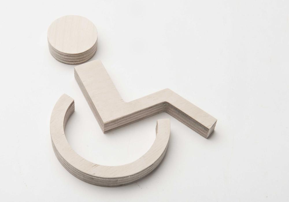Pictogram toilet gehandicapten