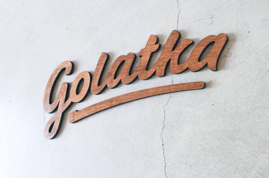 3D logo voor aan de muur of wand